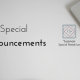 Yussman Special Needs Law Announcements